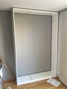 Lit Double Escamotable Ikea : lit escamotable ikea diy avec une armoire pax bidouilles ikea ~ Melissatoandfro.com Idées de Décoration