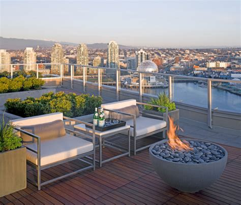 solus decor 36 quot hemi firebowl contemporary deck by solus decor inc