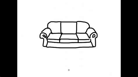ipad draw  simple cartoon sofa  youtube