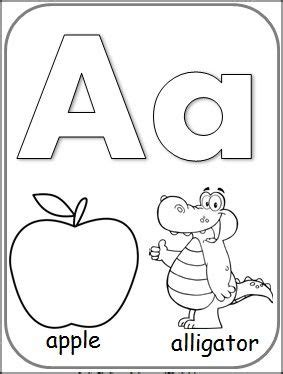 letteraalphabetcardforcoloring  images