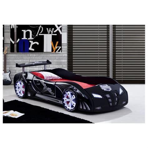 chambre garcon complete lit enfant voiture le mans racing noir achat vente lit