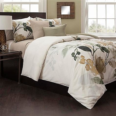 ivory duvet cover king buy haruko king duvet cover set in ivory gold from bed