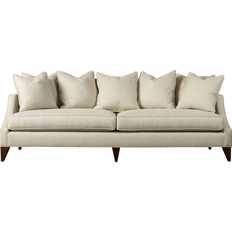 Discount Contemporary Sofas by Baker Furniture Simply Baker Upholstered Two Cushion Sofa