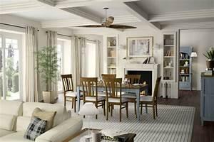 Decoration salle a manger avec cheminee for Deco cuisine avec salle a manger sejour complet