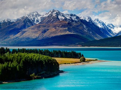 Wallpaper Lake Tekapo 5k 4k Wallpaper South Island New