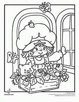 Coloring Strawberry Shortcake Pages Cartoon 80s Books Berrykins Printable Classic Sheets Fashioned Clipart Print Clip Friends Characters Library Jam Cherry sketch template