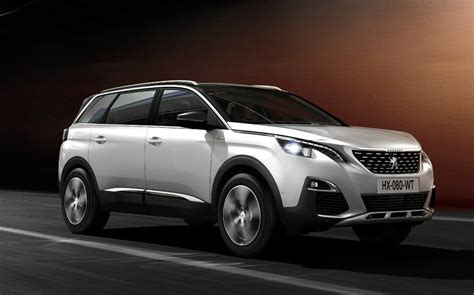 new 2017 peugeot 5008 joins new 2017 peugeot 5008 joins the suv crowd