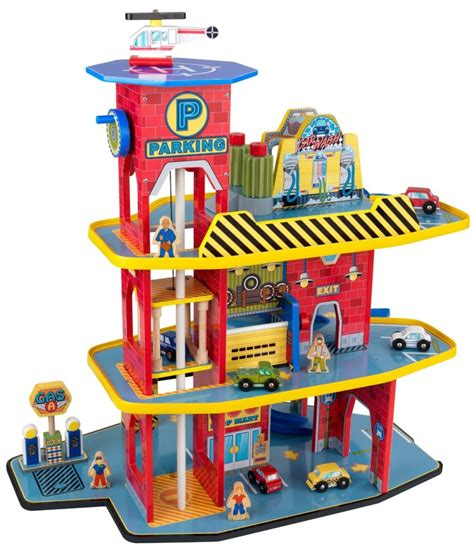 kidkraft deluxe garage set best car garage 3 popular playsets