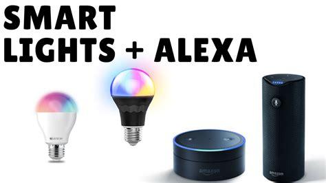 cool smart lights  work  amazon alexa youtube