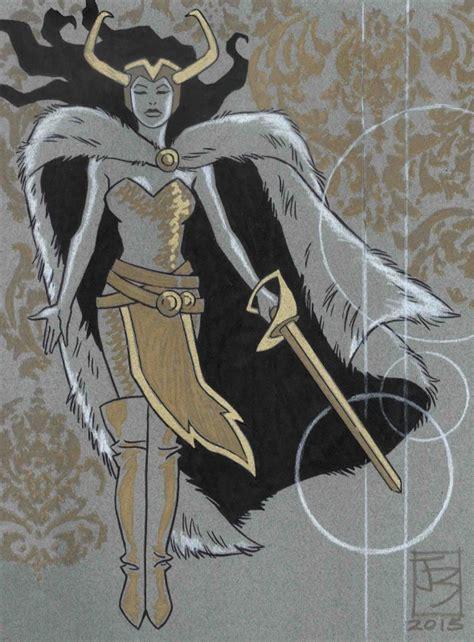 Marvel Comics Of The 1980s Lady Loki By June Brigman