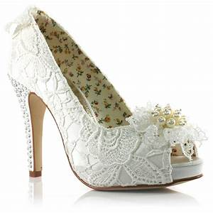 wedding shoes for brides wardrobelookscom With shoes for wedding dress