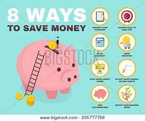 8 Way Save Money Vector & Photo (Free Trial) | Bigstock