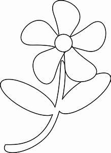 Black White Flower Clip Art at Clker.com
