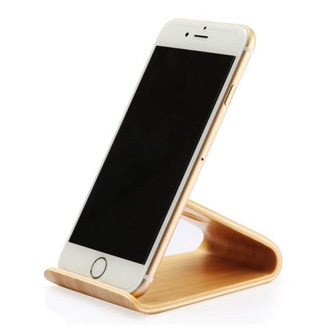 iphone 6 desk stand wooden mobile phone holder stand for iphone 6 6s plus 5 5s