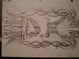 Cool Tribal Drawings by HuddyJr on DeviantArt