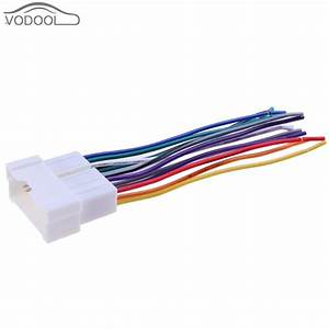 Car Stereo Cd Player Wiring Harness Wire Connect Cable Female Socket Aftermarket Radio Install