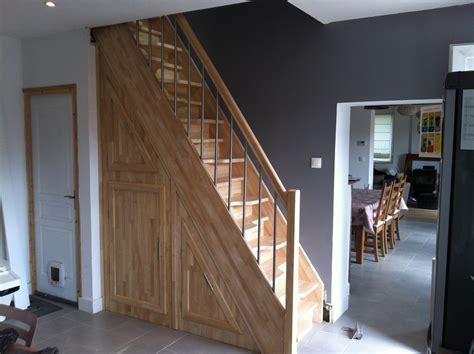 escalier 224 pas altern 233 s avec placard de rangement int 233 gr 233 nicolas dupriez escaliers bois
