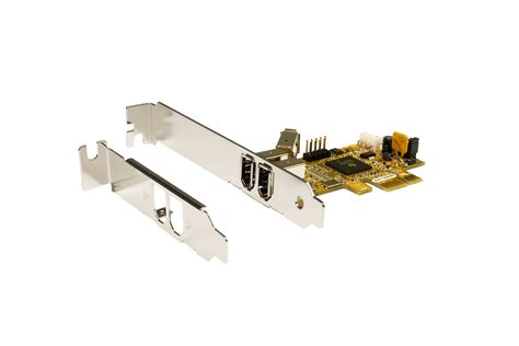 pcie firewire  karte mit  ports inkl lp buegel