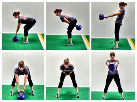 kettlebell swing bell workout swings single body arm exercise light kb glute redefiningstrength