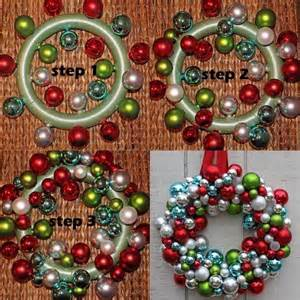 diy ornament wreath tutorial pictures photos and images for facebook tumblr pinterest and