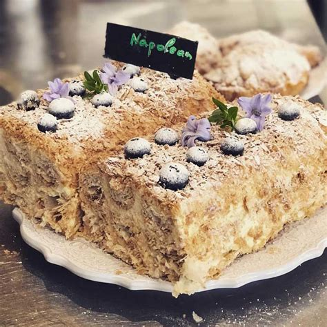 Ask anybody who was born and spent a good chunk of his/her life during soviet union what the most popular cake of the era was, chances are you will hear. Napoleon Cake - Cotea, Westbourne