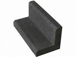 Mini L Steine : m hkantenwinkel anthrazit 15 cm x 15 cm x 33 cm kaufen bei obi ~ Frokenaadalensverden.com Haus und Dekorationen