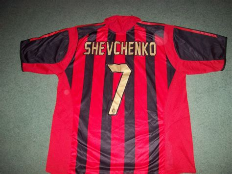 This is the shirt number history of andriy shevchenko from karriereende. 2005 2006 AC Milan Shevchenko Home Football Shirt Adults ...