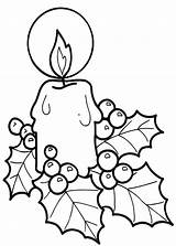Candle Coloring Christmas Pages Candles Template Printable Sheets Colornimbus Lights Lite Jesus Templates Popular Clipartmag sketch template
