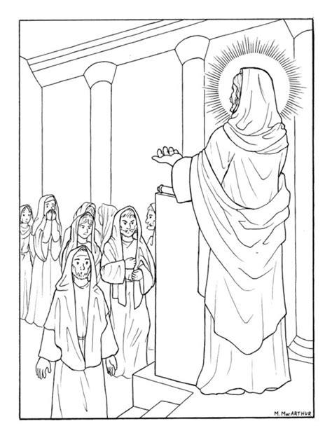 catholic illustrators guild luminous mysteries coloring book pages