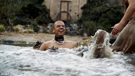 actor game of thrones grey worm cast of game of thrones struggle with their lines in