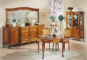 Decoration salle a manger en merisier for Deco cuisine pour meuble en merisier