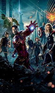 The Avengers (2012) Phone Wallpaper   Avengers 2012 ...