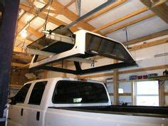 pulley system  quickly raiselower truck canopy diy   tos pinterest galleries