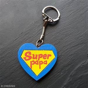 Porte Clé Super Papa : diy porte cl s super papa id es conseils et tuto f te des p res ~ Melissatoandfro.com Idées de Décoration