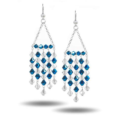 Chandelier Earring Designs by Beading Design Ideas How To Create Swarovski Chandelier