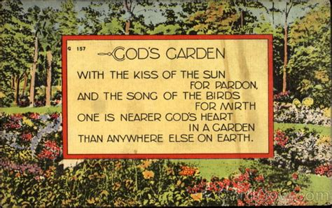 god s garden poems poets