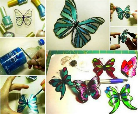 colorful diy butterfly crafts projects to make your