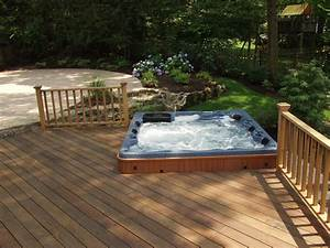 Hometalk Do You Like Hot Tubs On A Deck Or Built In