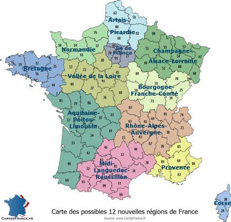 le bureau reims carte de region carte des régions françaises