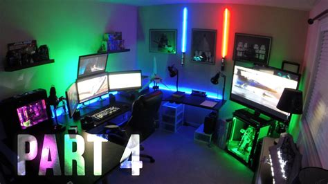 house with 4 bedrooms room tour project best gaming setups battlestations ep