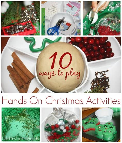 Top 10 Christmas Activities For Kids  Little Bins For Little Hands