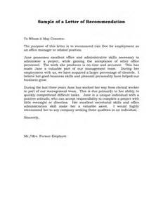 Uw Resume Fwd To Dept by Reference Letter Of Recommendation Sle Sle Manager Recommendation Letters