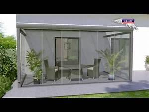 glasschiebewand auf terrasse als windschutz With whirlpool garten mit balkon bodenbelag pvc