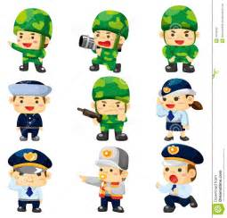 Soldier Cartoon Characters