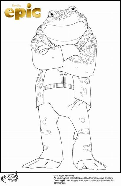 Coloring Pages Epic Topic Colors