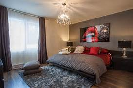 Red Black Grey White Bedroom by 23 Bedrooms That Bring Home The Romance Of Red