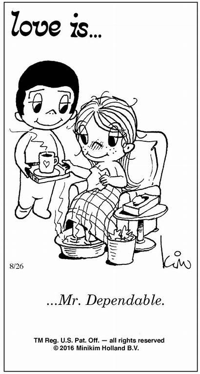 Comic Cartoon Dependable Quotes Mr Comics Coloring