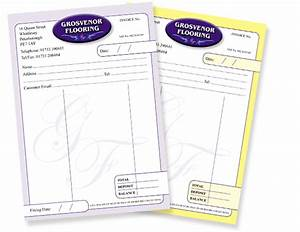 stationery design and printing based in peterborough With invoice pad printing