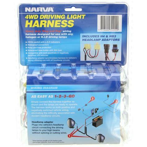 Narva Driving Light Wiring Harness Lights
