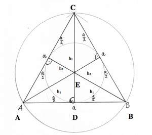 inkreis dreieck berechnen dreieck beweise bei einem